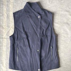 Banana Republic bluish gray vest